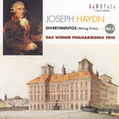 Haydn: String Trios Vol 3 / Vienna Philharmonia Trio