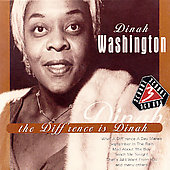 Dinah Washington: Diff'rence Is Dinah