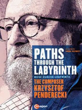 'Paths Through the Labyrinth' - A multi-layered music documentary portrait of Krzystof Penderecki / Anne-Sophie Mutter, Janine Jansen, Mariss Jansons, Lorin Maazel [DVD]