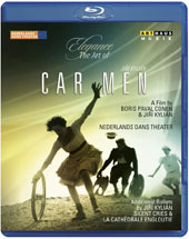 Elegance, The Art of Jirí Kylián: 3 ballets - Car Men; La Cathédrale Engloutie; Silent Cries / Netherland Dance Theater [Blu-ray]