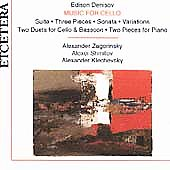 Denisov: Music for Cello / Zagorinsky, Shmitov, Klechevsky