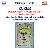 Rorem: Double Concerto, After Reading Shakespeare