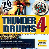 Various Artists: Thunder Drums, Vol. 4