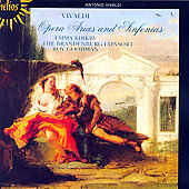 Vivaldi: Opera Arias & Sinfonias / Roy Goodman, Emma Kirkby