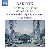 Bartók: The Wooden Prince / Alsop, Bournemouth Symphony