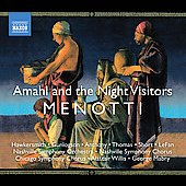 American Classics - Menotti: Amahl and the Night Visitors, My Christmas / Willis, Mabry, Nashville SO, et al