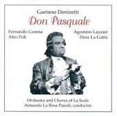 Donizetti: Don Pasquale / Parodi, Corena, Lazzari, La Gatta, Poli, et al