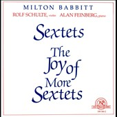 Babbitt: The Joy of More Sextets