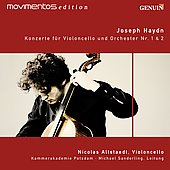 Joseph Haydn: Concertos for Cello no 1 & 2 / Nicolas Altstaedt, cello