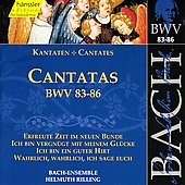 Bach: Cantatas, BWV 83-86