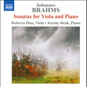 Johannes Brahms: Sonatas For Viola & Piano