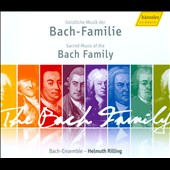 Sacred Music Of The Bach Family / Rilling/Bach Ensemble