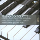 Beethoven, Brahms, Chopin, Liszt: Piano Concertos