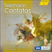 Telemann: Cantatas / Ulrich Stotzel, Collegium vocale Siegen, Hannoversche Hofkapelle