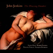 John Jenkins: The Pleasing Slumber, Aires for a treble, lyra, bass and harpsichord / Sophie Gent, Philippe Pierlot, Romina Lischka, Fran&ccedil;ois Guerrier