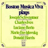 Boston Musica Viva plays Schwanter, Ives, Berio, et al