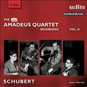 The RIAS Amadeus Quartet Recordings Vol. 2: Schubert (rec. Berlin, 1950-1964)