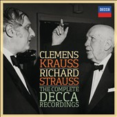 Clemens Krauss Conducts Richard Strauss: The Complete Decca Recordings - Tone poems, Salome / Pierre Fournier, Vienna PO
