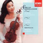 Sibelius, Mendelssohn: Violin Concertos / Chang, Jansons