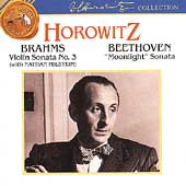Beethoven: Moonlight;  Bach, Brahms, Haydn, etc / Horowitz