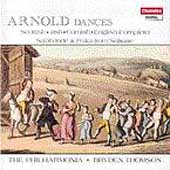 Arnold: Dances / Bryden Thomson, The Philharmonia