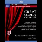 Great Comedy Overtures - from Barber of Baghdad; Donna Diana; Fra Diavolo; Martha; Mignon; Zampa; Susanna's Secret et al. / Royal Scottish Nat'l Orch., Friedel [Blu-ray Audio]