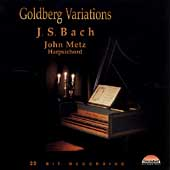 Bach: Goldberg Variations / John Metz