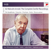 Sir Malcolm Arnold (1921-2006): The Complete Recordings - The Symphonies, Concertos, Overtures, Suites, Dances / Royal PO, Bournemouth SO, BBC Concert Orchestra, Vernon Handley