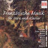 Franz&#246;sische Musik f&#252;r Horn und Klavier / Damm, R&#246;sel
