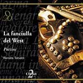 Puccini: La Fanciulla del West / Basile, Tebaldi, et al
