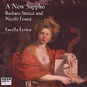 A New Sappho - Strozzi, Fontei / Favella Lyrica