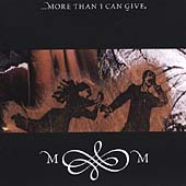Matthew Moon: ...More Than I Can Give