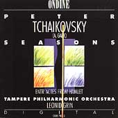 Tchaikovsky: Seasons, etc / Grin, Tampere PO