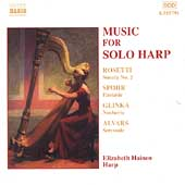 Music for Solo Harp - Rosetti, Spohr, Glinka, et al / Hainen