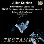 Prokofiev, Bartok / Katchen, Ansermet, Suisse Romande
