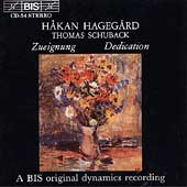 Zueignung / H&#229;kan Hageg&#229;rd, Thomas Schuback