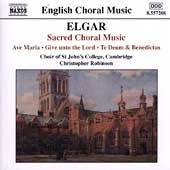 English Choral Music - Elgar: Sacred Choral Music