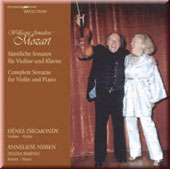 Mozart: Complete Sonatas for Violin and Piano / Zsigmondy