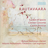 Rautavaara: Clarinet Concerto, etc / Stoltzman, et al