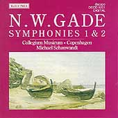 Gade: Symphonies 1 & 2 / Schonwandt, Collegium Musicum