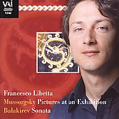 Mussorgsky: Pictures at an Exhibition;  Balakirev: Sonata