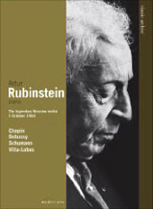 Pianist Artur Rubinstein / The Legendary Moscow Recital, October 1, 1964 [DVD]