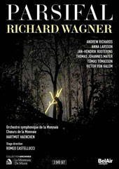 Wagner: Parsifal / Andrew Richards, Anna Larsson, Jan-Hendrik Rootering, Thomas Johannes Mayer. Hartmut Haenchen [2 DVD]