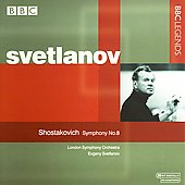 Shostakovich: Symphony no 8 / Evgeny Svetlanov, LSO