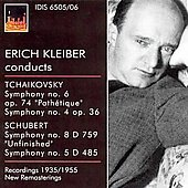 Erich Kleiber conducts Tchaikovsky & Schubert Symphonies