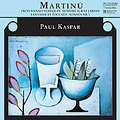 Martinu: Piano Music Vol 1 / Paul Kaspar