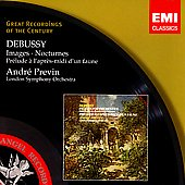 Debussy: Images, Nocturnes, etc / André Previn, London SO