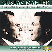 Mahler: Symphonies no 1 & 9 / Schwarz, Royal Liverpool PO