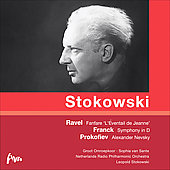 Franck: Symphony in D minor;  Prokofiev: Alexander Nevsky Op 78, etc / Sante, Stokowski, Netherlands Radio PO, et al