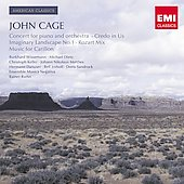 American Classics - Cage: Piano Concerto, Credo in Us, etc / Wissermann, Dietz, Imhoff, Sandrock, Riehm, Musica Negativa Ensemble